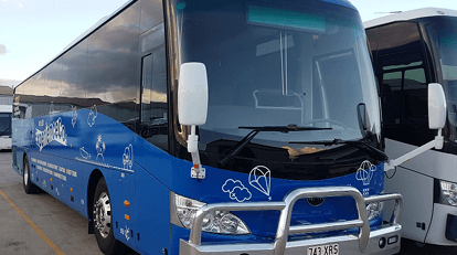 Experience Co coach and bus transfers